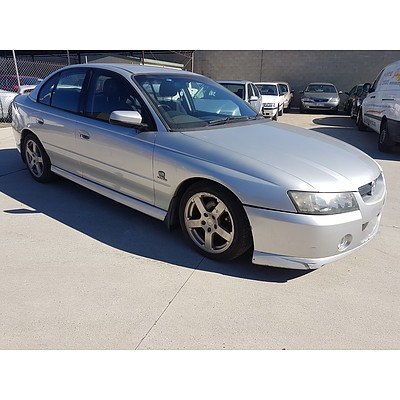 4/2005 Holden Commodore SV6 VZ 4d Sedan Silver 3.6L