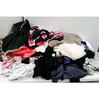 Large Lot of Female Clothing RRP Over $800