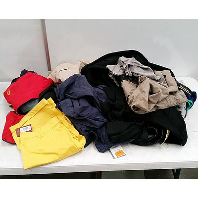 Large Lot of Male Clothing RRP Over $800