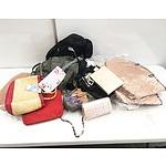 Bulk Lot of Handbags and Backpacks