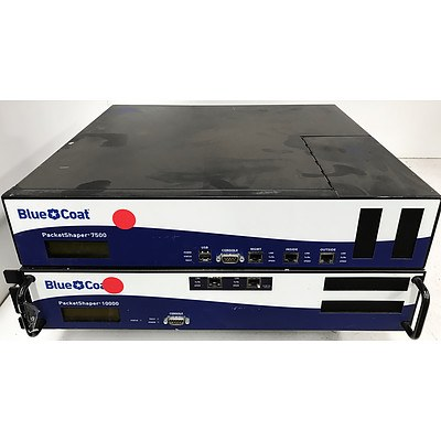 Blue Coat PacketShaper 7500 & 10000 Network Monitoring Appliance