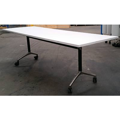 Modulus Flip Top Table - Lot Of 3
