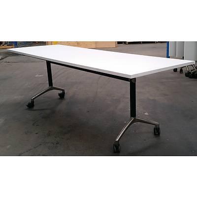 Modulus Flip Top Table - Lot Of 3