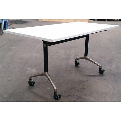 Modulus Flip Top Table - Lot Of 4