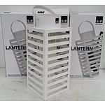 S & P Candle Lanterns - Lot of Three - New