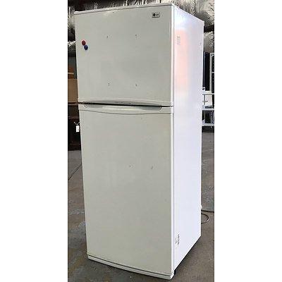 LG Express Cool GR-391SCA 392Litre Fridge Freezer