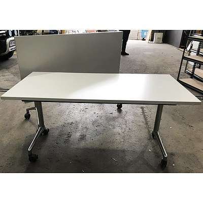 Thinking Ergonimics i.am Grey Melamine Tilt Tables - Lot of 6