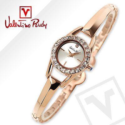 Valentino Rudy Ladies' Rose Gold Bracelet Watch