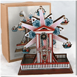 Classic wind-up clockwork Ferris wheel