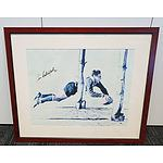 Hand Signed Ken Catchpole Print