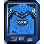 NSW State of Origin Personally Signed Jersey