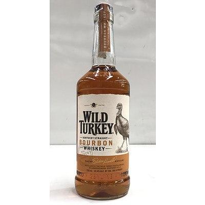 700ml Bottle Wild Turkey Bourbon Whiskey