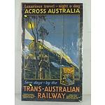 Modern Trans - Australian Railway Poster