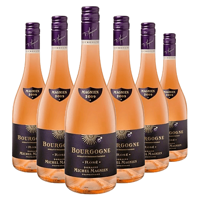 Case of 6x 750ml Bottles of 2009 Magnien Bourgogne Rose - RRP: $180