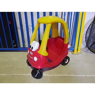 Little Tikes Cozy Coupe - Lot of 2