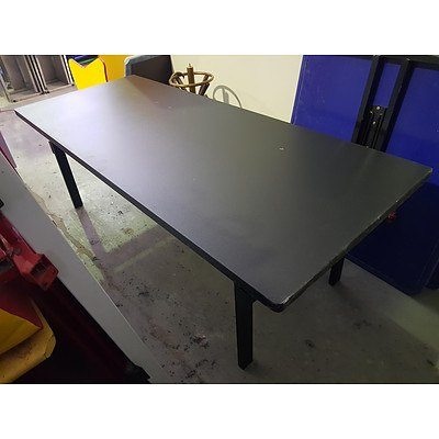 Mity-Lite Aluminium Trestle Tables - Lot of 9