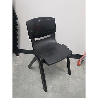 Sebel Postura Chairs - Black - Lot of 28