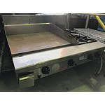 Goldstein 4 Burner Gas Stove