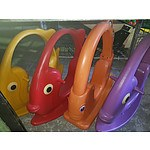 Step 2 Angel Fish Rocker & Other Rockers - Lot of 4