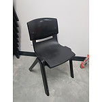 Sebel Postura Chairs - Black - Lot of 28