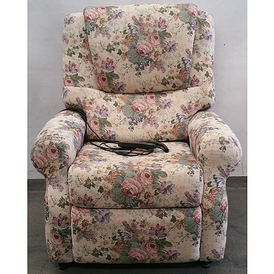 Anda Floral Single Seater Electric Lounge