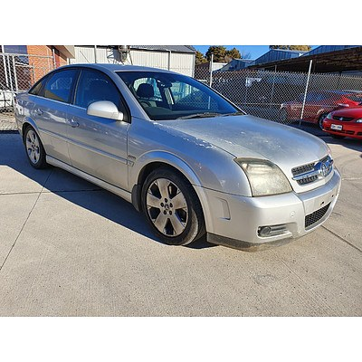 2/2006 Holden Vectra CDXi ZC MY05 UPGRADE 5d Hatchback Silver 3.2L