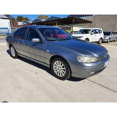 9/2002 Ford Fairmont  BA 4d Sedan Silver 4.0L