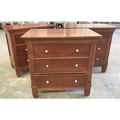 Three Thomasville Chest of Drawers