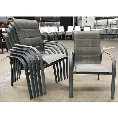 Six Outdoor Chairs