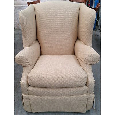 Drexel Heritage Wingback Armchair