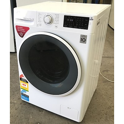 LG Inverter Direct Drive 7.0kg Front-Loader Washing Machine
