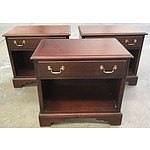 Three Drexel Heritage Bedside Tables
