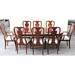 Drexel Heritage Furniture Nine Piece Dining Setting