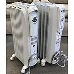 Two DeLonghi Column Oil Heater