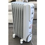 DeLonghi 1500w Column Oil Heater