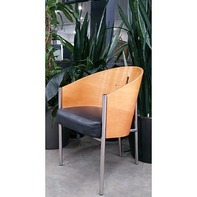 Replica Philippe Starck 'Costes' Chairs - Lot of 4