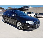 1/2009 Volkswagen Passat V6 FSI Highline 3C MY09 UPGRADE 4d Sedan Black 3.2L