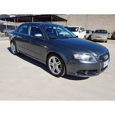 2/2008 Audi A4 1.8T S-line B7 4d Sedan Grey 1.8L