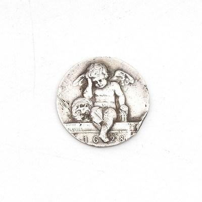 1628 Cherub Silver Coin