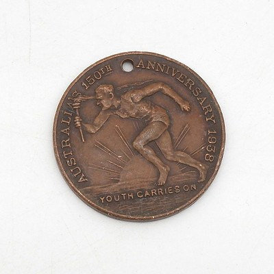 1938 150th Anniversary New South Wales Medallion