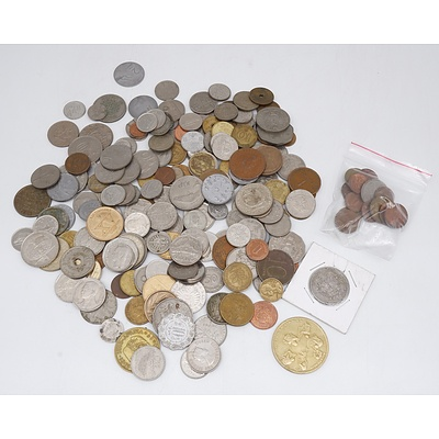 Large Collection of Various International Coins