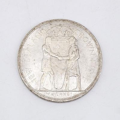 "1935 New Zealand ""Waitangi Crown"" Medallion"