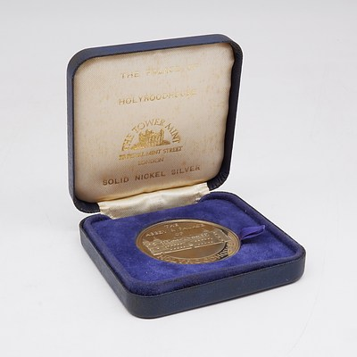 The Palace of Holyroodhouse The Tower Mint Solid Silver Nickle