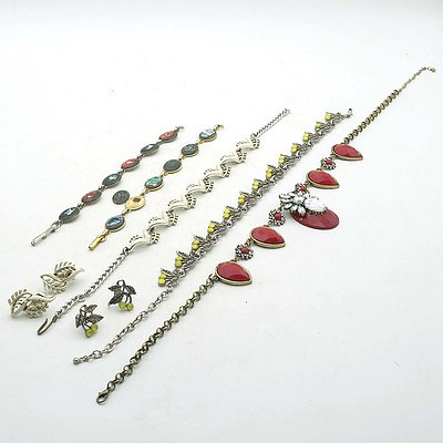 A Group of Costume Jewellery