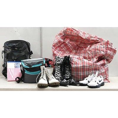Pallet Lot of Shoes, Bag's, Accessories & Homewares