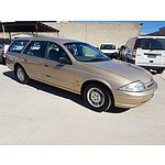 9/1998 Ford Falcon Futura AU 4d Wagon Gold 4.0L