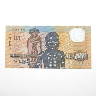 1988 Australian Polymer Bicentennial Commemorative $10 Note, AB18644991