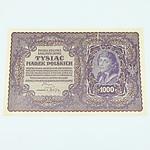 1919 Polish 1000 Marek Banknote