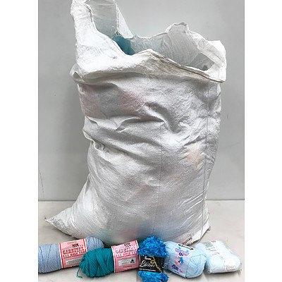 Bulk Bag of Yarn & Knitting Supplies