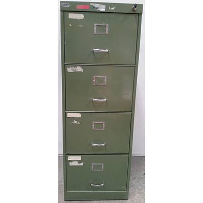 Duff Steel C Class Four Drawer Filing Cabinet